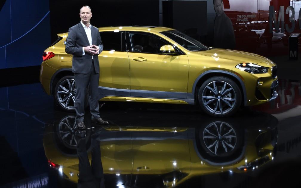 BMW X2 é apresentado em Detroit (Foto: Jose Juarez/AP)