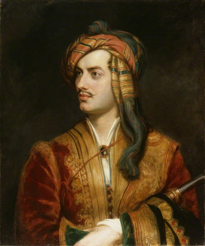 O poeta George Gordon Byron (Foto: Wikipedia Commons)
