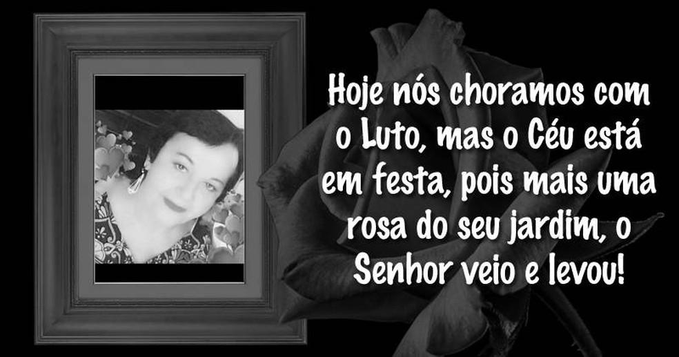 Maria das Dores da Silva — Foto: Reprodução/Redes Sociais