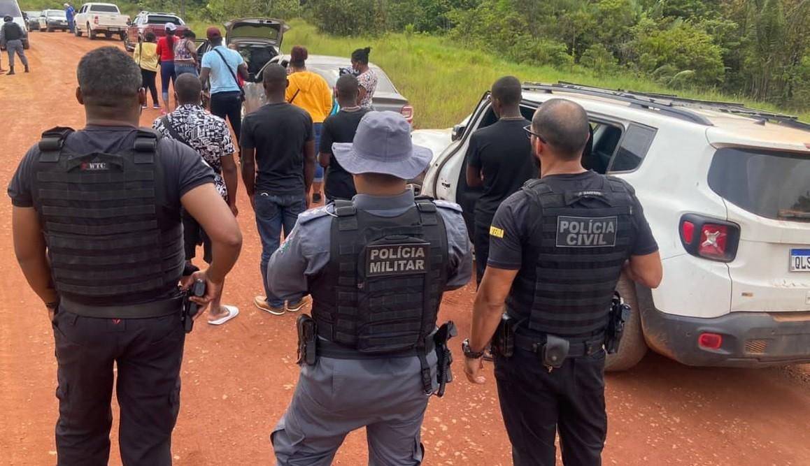 'Coiotes' são presos por facilitar entrada de haitianos no Brasil pela fronteira com a Guiana Francesa
