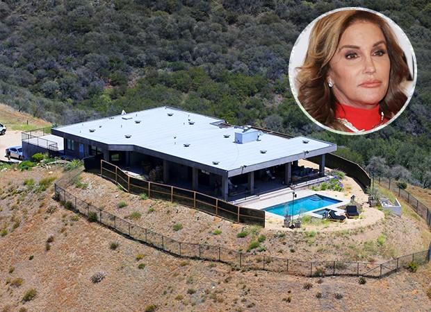 Mansão de Caitlyn Jenner em Malibu, na Califórnia (Foto:  Reprodução/Realtor.com, Getty Images)