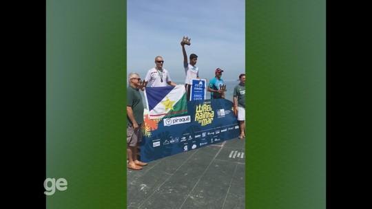 Flávio é vice-campeão na Challenge na 1ª Etapa do Circuito Rei do Mar 2017