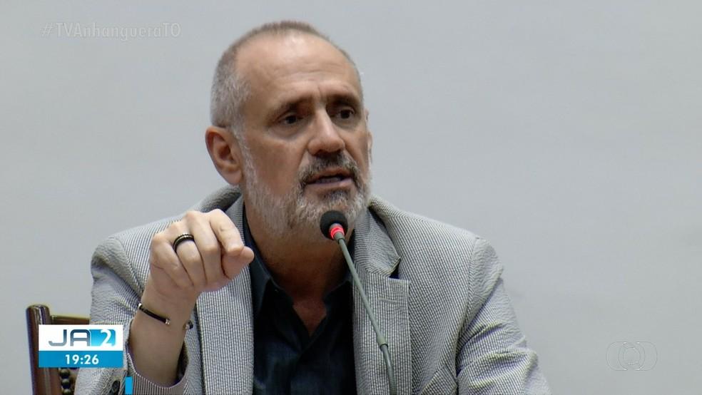 MP pediu a prisão do Secretário de saúde do Tocantins — Foto: Reprodução/ TV Anhanguera