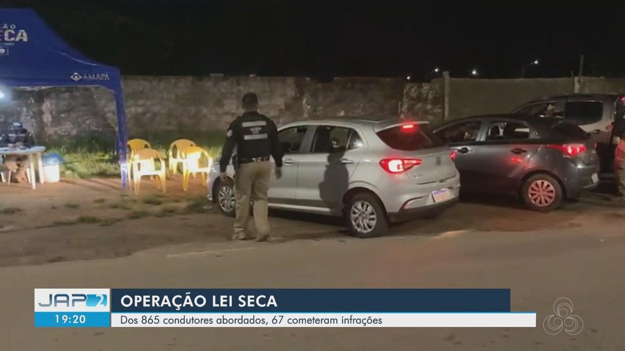 Lei Seca autuou quase 10 motoristas por dia no Amapá durante o carnaval