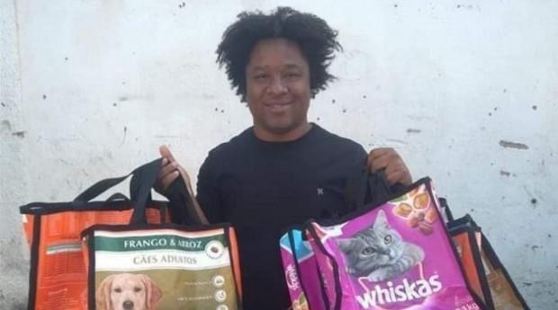 Wallace de Almeida, fundador do SustentaCão (Foto: Reprodução/Instagram)