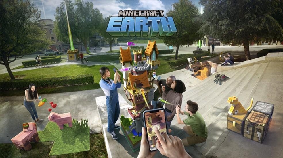 Minecraft Earth revela gameplay e fase beta; veja como se inscrever | Jogos  casuais | TechTudo