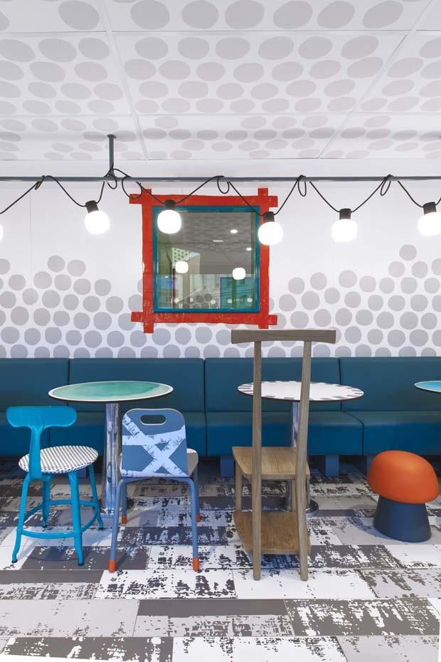 Designer renomada cria nova loja para Mcdonald's em Paris (Foto: Divulgação)