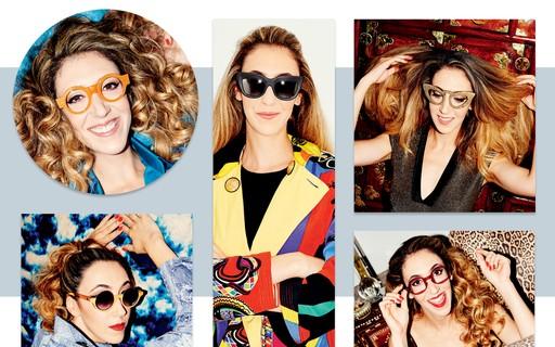 4356bb739 Chantal Goldfinger faz dos óculos o ponto de partida dos seus looks de  impacto - Vogue | news
