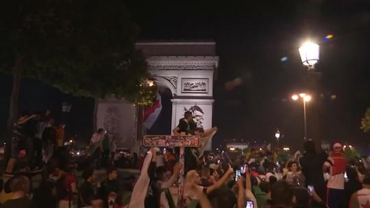 Mais de 280 pessoas são detidas na França após vitória da Argélia na Copa Africana