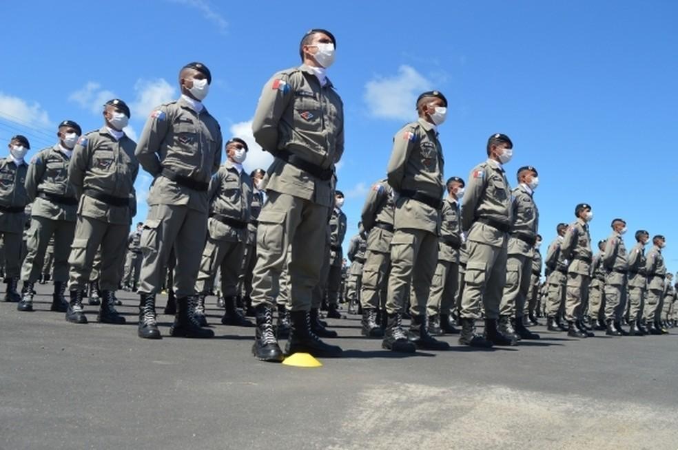 Governo decide suspender realização do concurso da Polícia Militar de Alagoas para apurar denúncias de fraude— Foto: Agência Alagoas