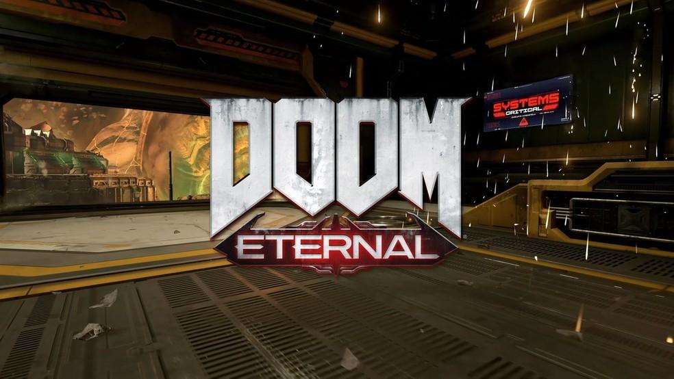 DOOM Eternal é um dos jogos do Stadia — Foto: Divulgação/Google