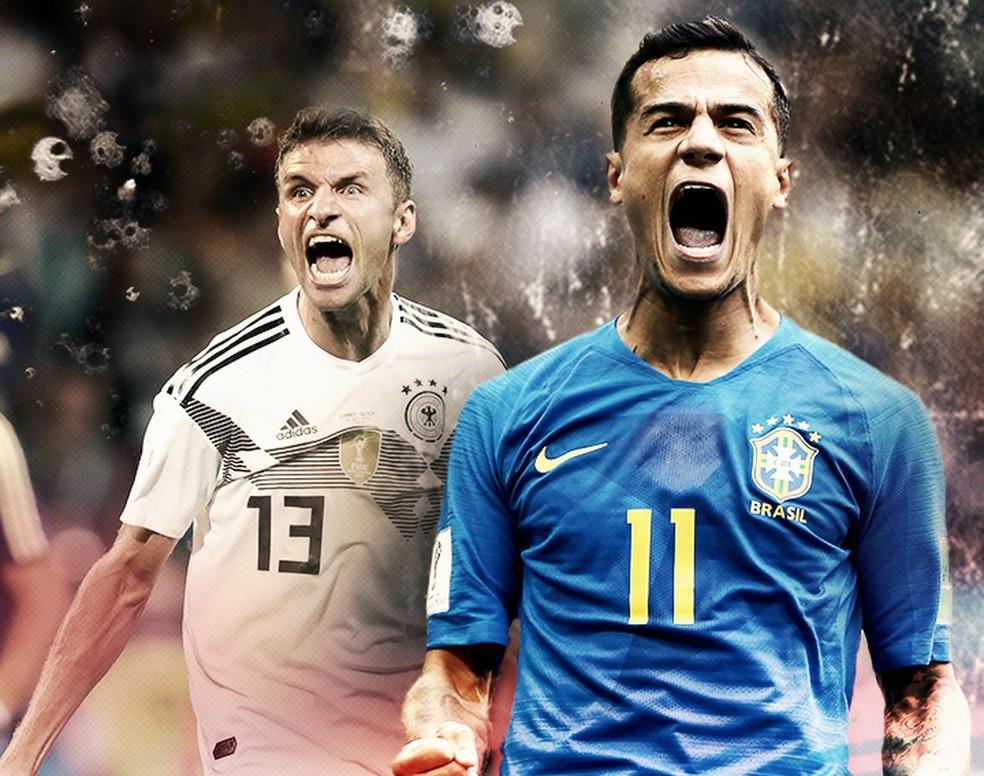 Brasil e Alemanha nas oitavas? (Foto: InfoEsporte)
