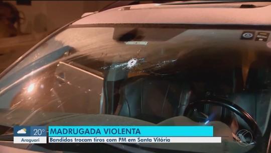 Criminoso é morto pela PM em Santa Vitória durante tentativa de assalto