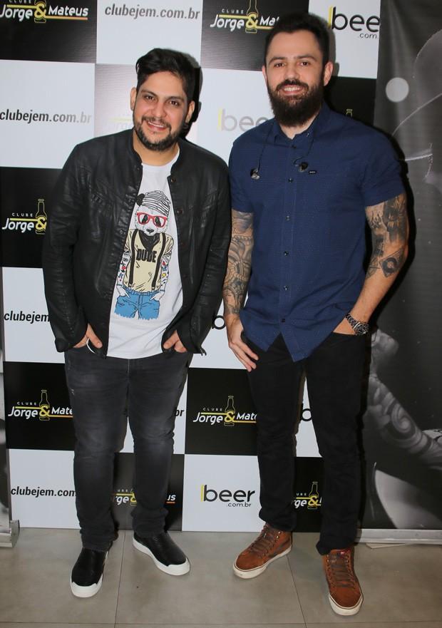 Jorge e Mateus (Foto: Thiago Duran/AgNews)
