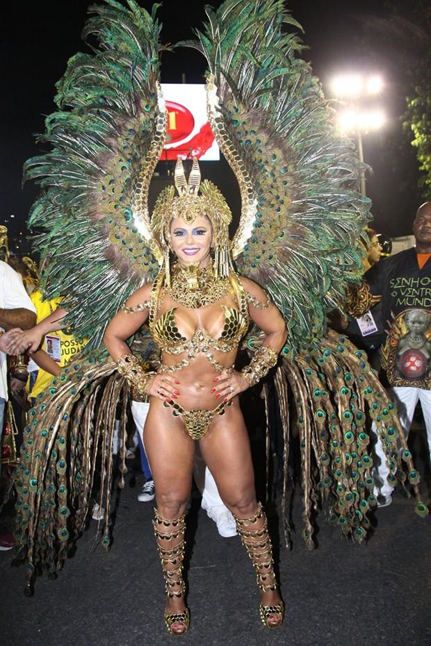 Viviane Araújo (Foto: Roberto Valverde/ Ed. Globo)