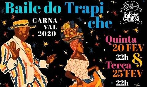 Baile do Trapiche: animação na Praça Mauá