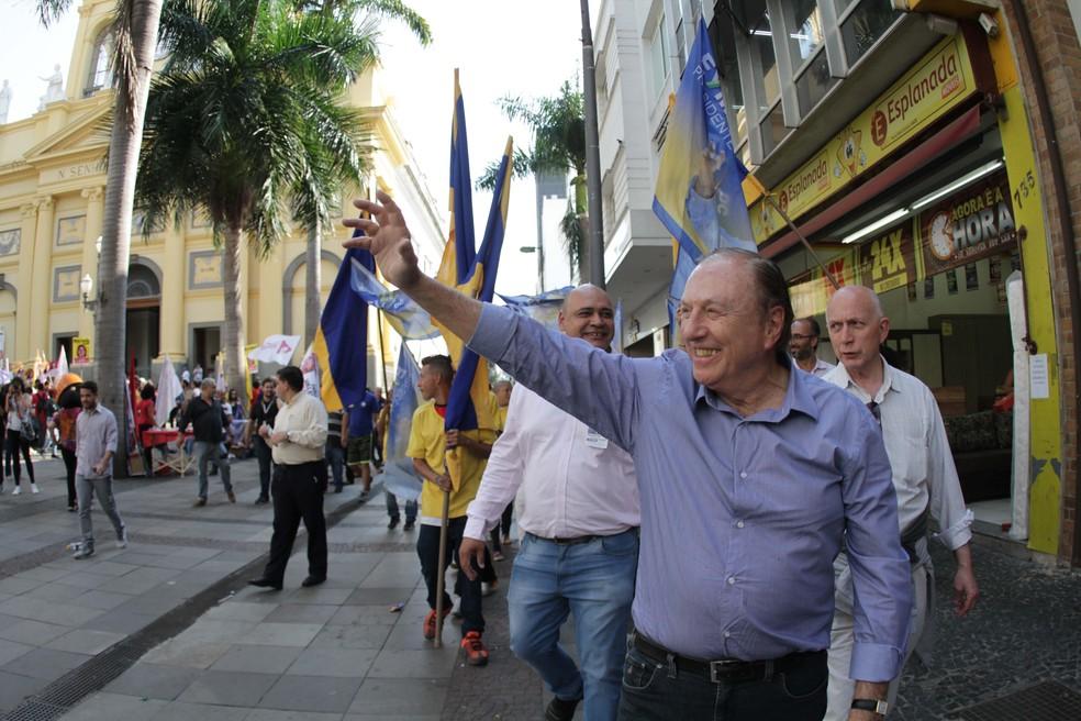 Eymael, candidato a presidente — Foto: DENNY CESARE/CÓDIGO19/ESTADÃO CONTEÚDO