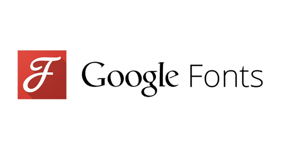 Google Fonts tem milhares de fontes tipográficas — Foto: Reprodução/André Sugai