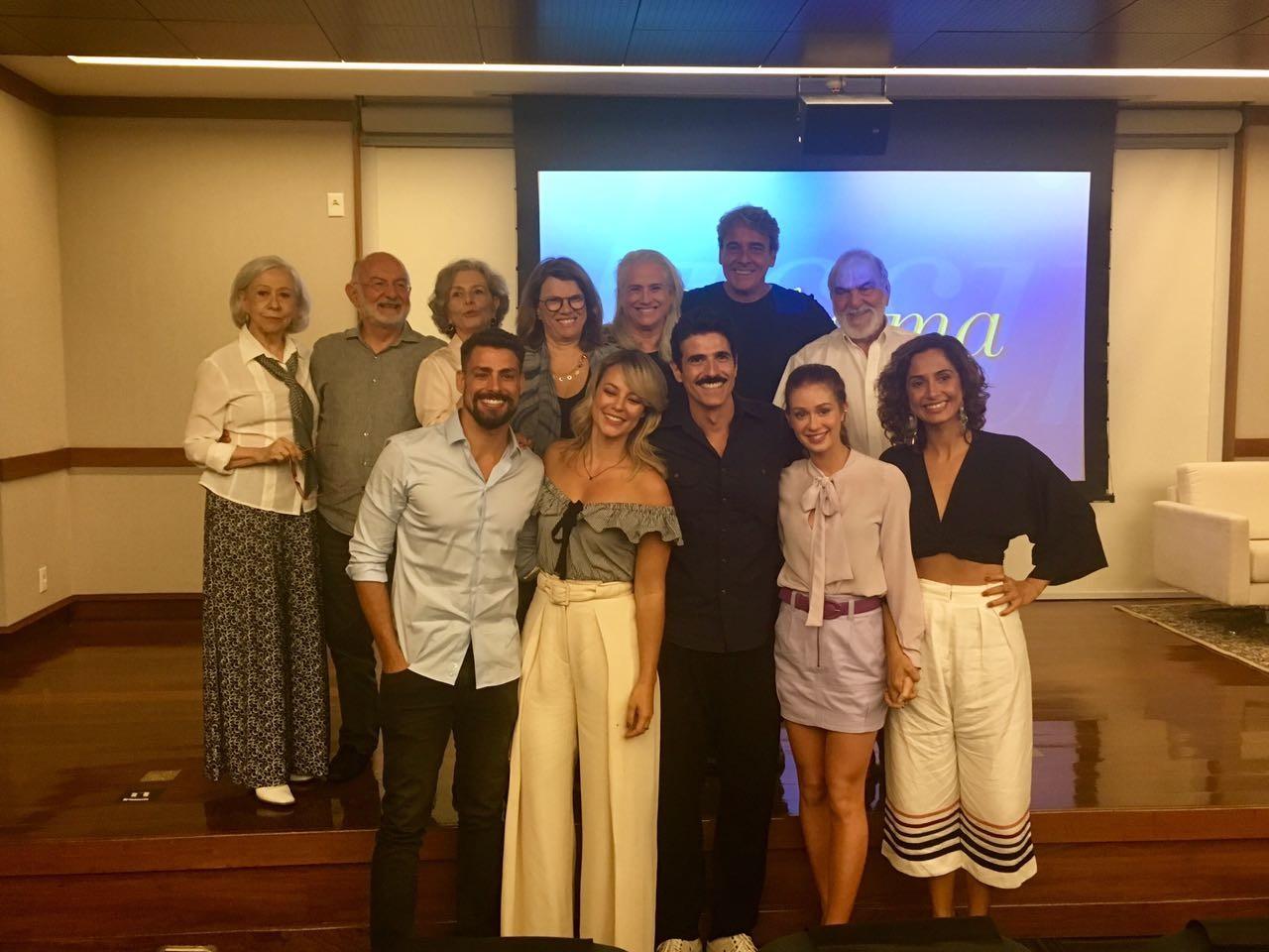 'Belíssima' volta à TV e elenco comemora reprise no 'Vale a pena ver de novo'