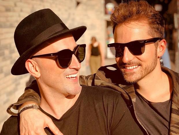 Paulo Gustavo e o marido, Thales Bretas (Foto: Reprodução / Instagram)