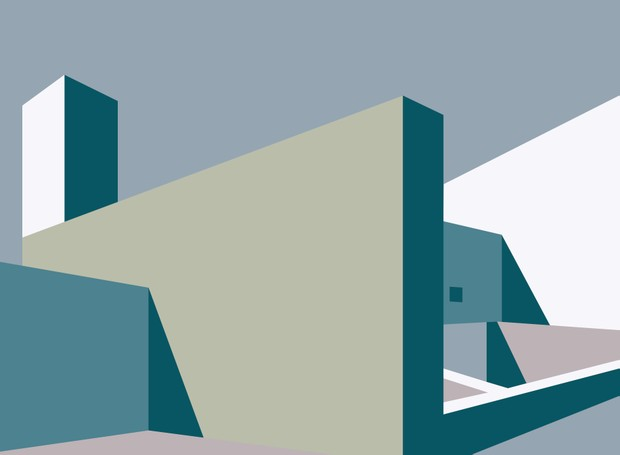 Arquitetura sustentável: conheça as tintas ecológicas (Foto: Ilustrações Fernanda Ferrari/Editora Globo)