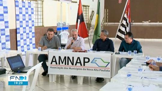 Associação de municípios prepara sugestões para o Estado sobre concessão de rodovias no Oeste Paulista
