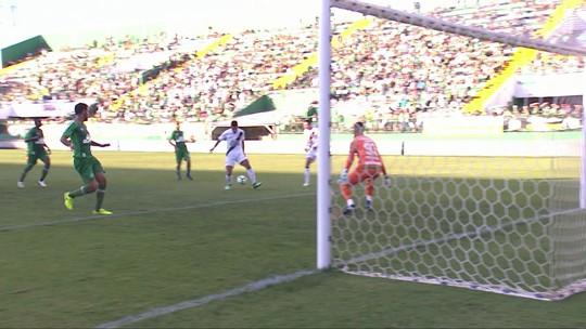Os gols de Chapecoense 1 x 1 Vasco pela 2ª rodada do Brasileirão 2018