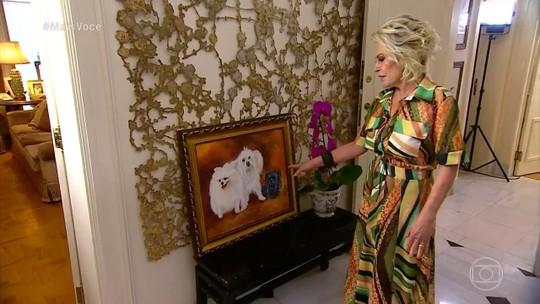 Ana Maria mostra cantinho especial de sua casa; veja detalhes