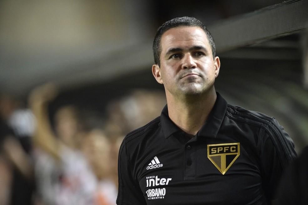 André Jardine foi primeiro técnico do São Paulo na temporada 2019 — Foto: Marcos Ribolli