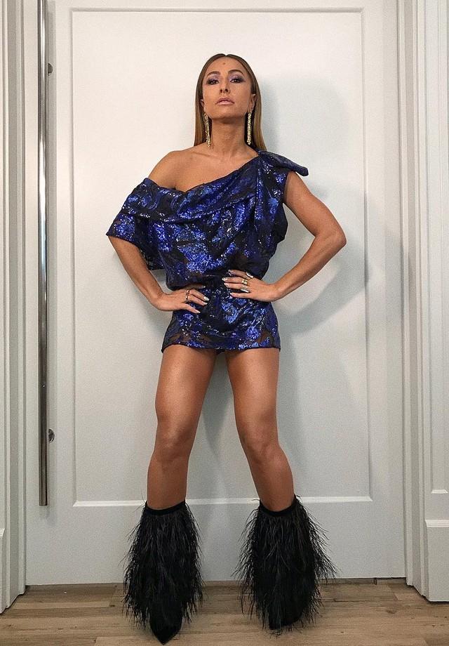 Sabrina de Andre Lima e botas YSL (Foto: Reprodução/Instagram)