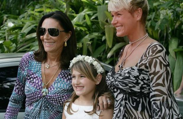 Beth Szafir, Sasha e Xuxa (Foto: Reprodução)