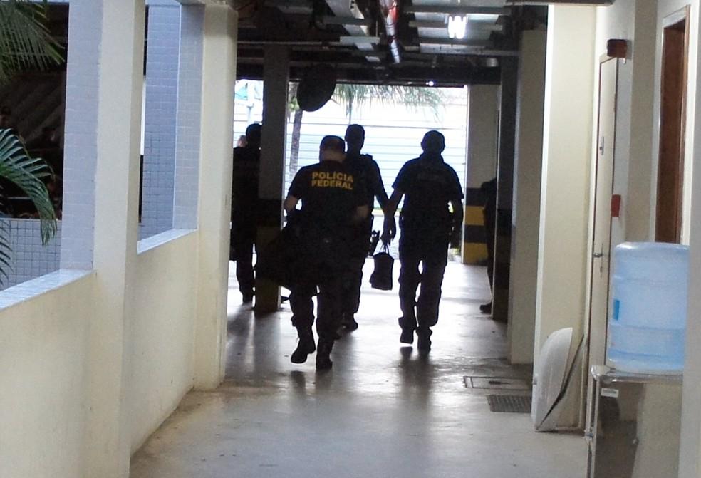 PF faz operação conta grupo suspeito de assaltos a bancos e comércios no Rio Grande do Norte e na Paraíba — Foto: PF/Divulgação