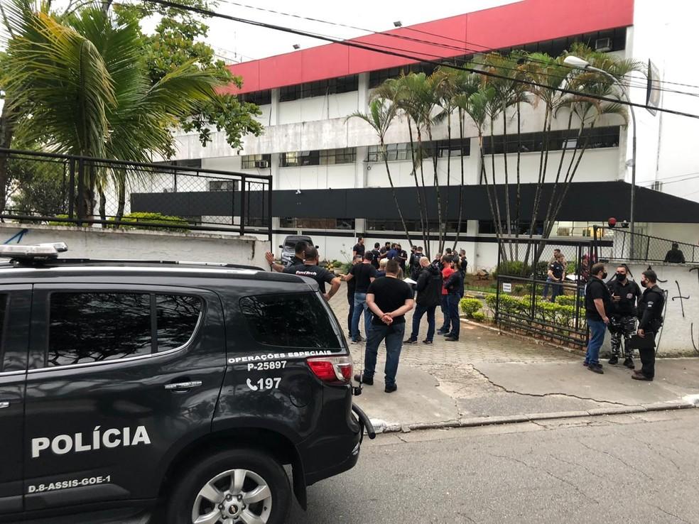 Operação Anteros teve início na manhã desta terça-feira (15) — Foto: Polícia Civil
