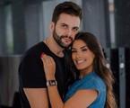 Ivy Moraes e o marido, Rogério Fernandes | Reprodução