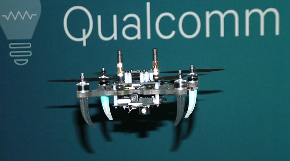 Drone equipado com o Snapdragon Flight, desenvolvido pela Qualcomm (Foto: Reprodução)