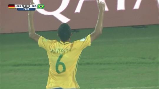Após entrar e marcar, Weverson volta a ser titular em último treino antes da Inglaterra