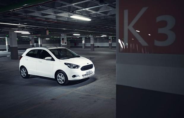 novo ford ka  motor  em cinco pontos auto esporte noticias