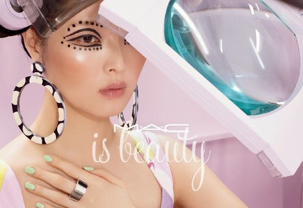 m.a.c is beauty (Foto: Divulgação)