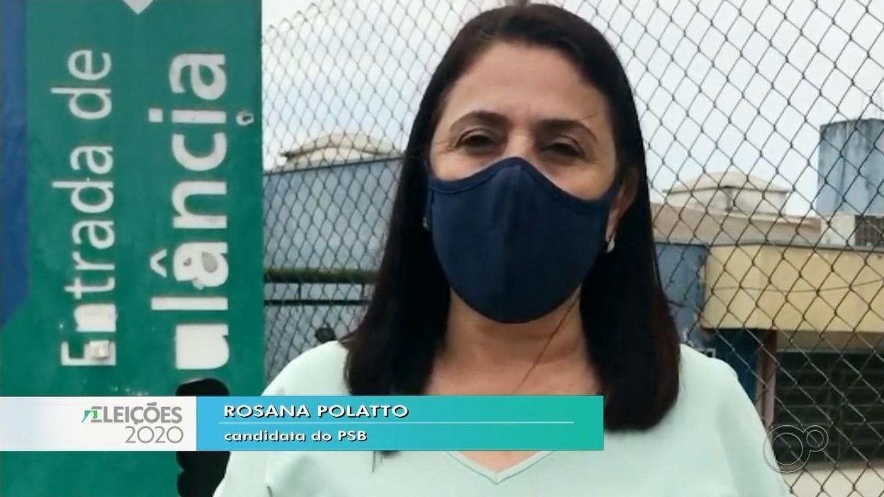 Candidata Rosana Polatto fala sobre as propostas para a saúde em Bauru