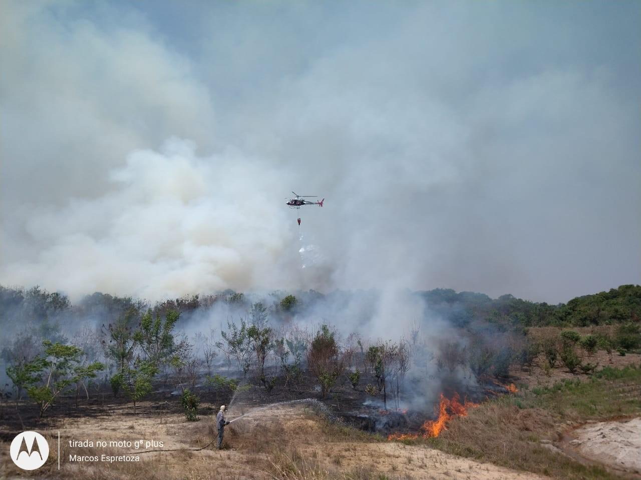 Focos de incêndio em reserva ambiental de Mogi Guaçu são controlados após cinco dias