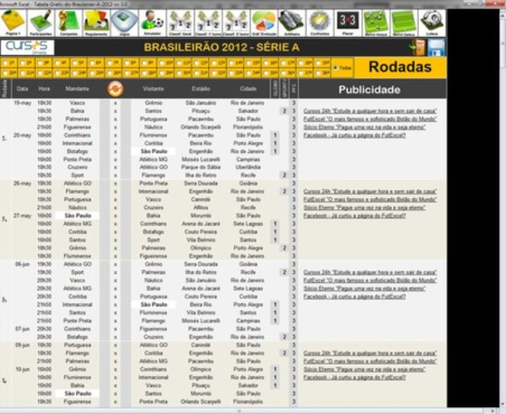 Tabela Do Brasileirao 2012 Download Techtudo
