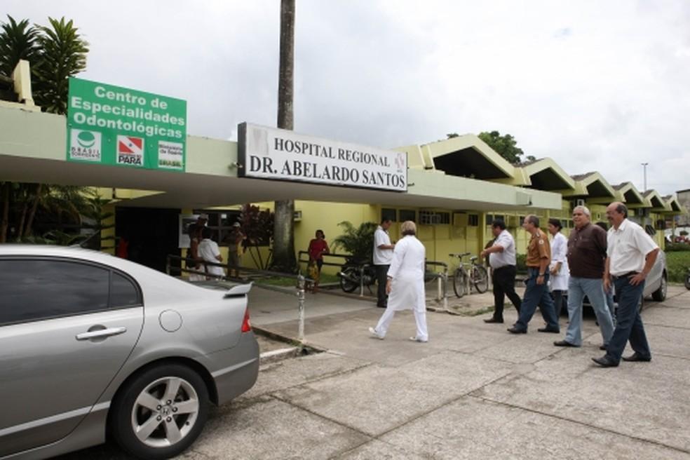 -  Abuso contra criança teria ocorrido dentro do Hospital Abelardo Santos  Foto: Agência Pará