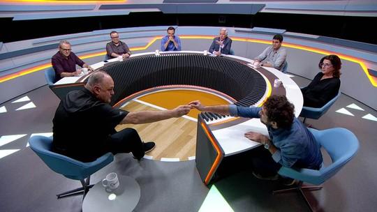 """Acidente com anel histórico de Oscar Schmidt: """"Andreoli, pode passar no RH"""""""