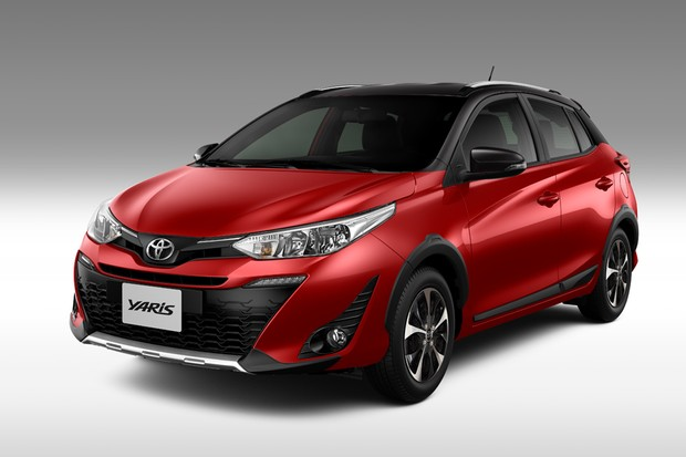 Toyota Yaris 2020 - Versão X-Way chega com novas opções de cores Dual Tone (Foto: Divulgação)