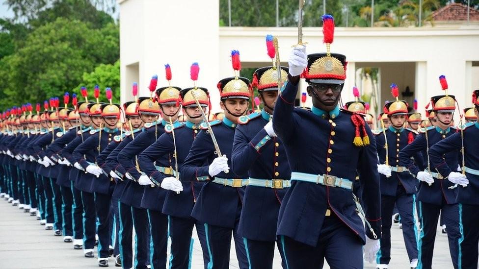 Academia Militar das Agulhas Negras, em Resende (RJ) (Foto: SOLDADO ELIZEU GOMES/EXÉRCITO)