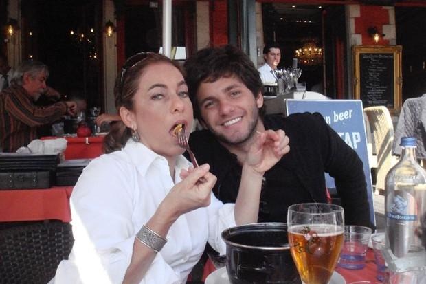 Cissa Guimarães e o filho caçula, Rafael Mascarenhas (Foto: Reprodução/Instagram)