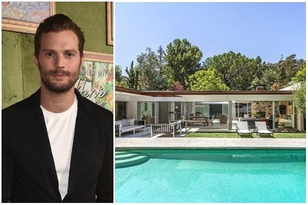 Jamie Dornan e sua mansão em Hollywood Hills (Foto: Getty Images / Imobiliária The Agency)