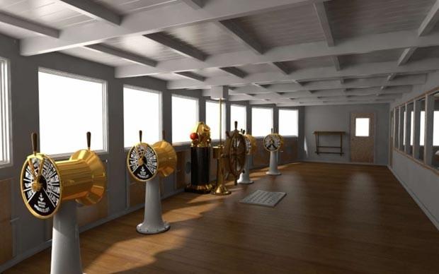 Réplica do Titanic será lançada ao mar em 2022 (Foto: Reprodução)
