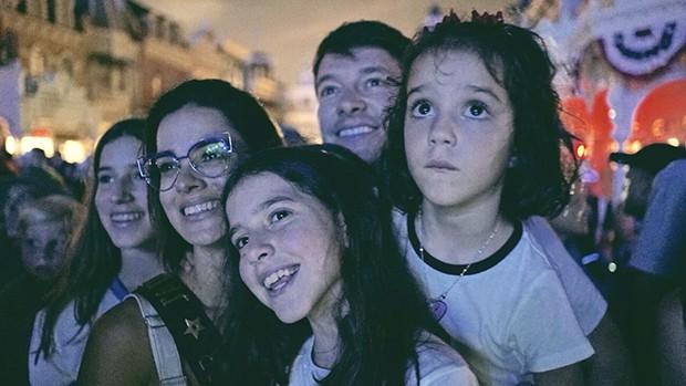 Rodrigo faro em férias com a família na Disney (Foto: Gustavo Canha/ Divulgação)