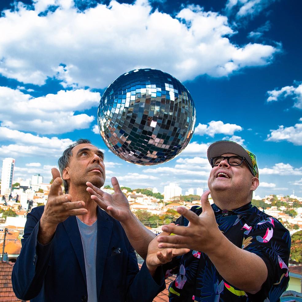 Capa do single com remix de 'Alegria', do DJ Zé Pedro — Foto: Murilo Alvesso